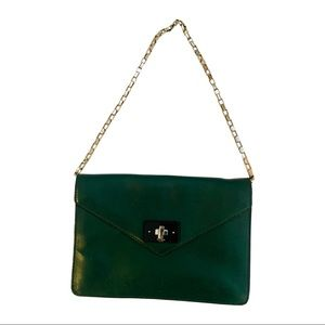 KATE SPADE green vintage bag